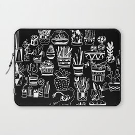 Succulent Party (Night Version) Laptop Sleeve