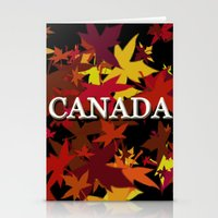 canada Stationery Cards featuring Canada by megghan18