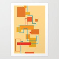 Rectangles Art Print