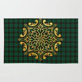 Gold & Green Rug