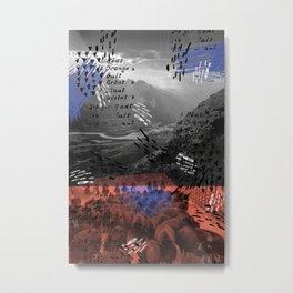 STAMPEDE Metal Print