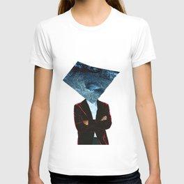 Mr. Charybdis (Handmade Collage) T-shirt