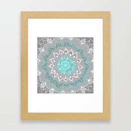 Bubblegum Lace Framed Art Print