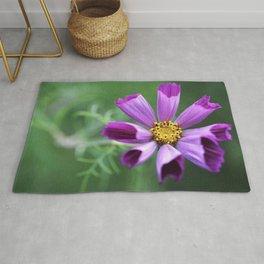 Cosmos Flower Rug