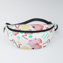 Pink Lady from the 80s Fanny Pack