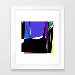 see-thru Framed Art Print