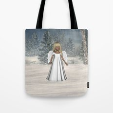 Little Winter Angel Tote Bag