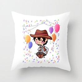 Cowboy Party Boy Carnival gift Throw Pillow