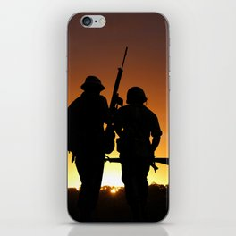 Dawn of the Warrior iPhone Skin