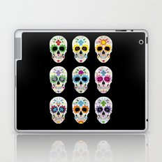 Nine skulls Laptop & iPad Skin
