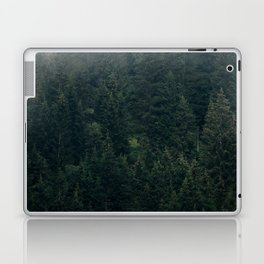Mystic Pines - A Forest in the Fog Laptop & iPad Skin