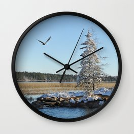 Far end of the Headwaters Wall Clock
