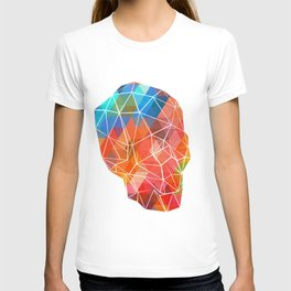 Skull Made of Color T-shirt