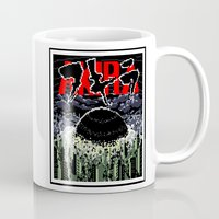 akira Mugs featuring akira by tama-durden