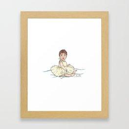 Baby Ballerina Framed Art Print