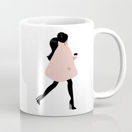 Bubble Coat Illustration by Sabina Fenn Coffee Mug