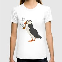 agnes T-shirts featuring Puffin' by Megs stuff...