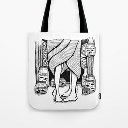 Rainy Day. (miss you...) Tote Bag
