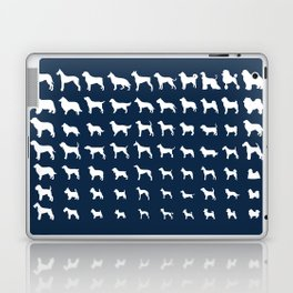 All Dogs (Navy) Laptop & iPad Skin