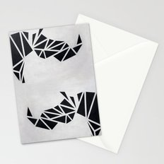 Geo Rhino (oil painting) Stationery Cards