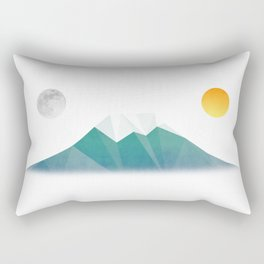 遠山の目付 Rectangular Pillow