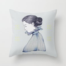 dance me through the dark Throw Pillow