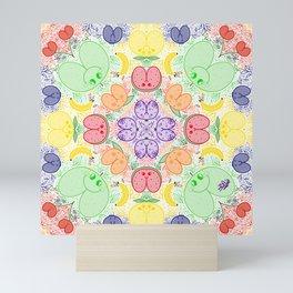 Culondala de frutas Mini Art Print