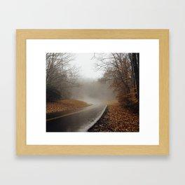Fall on the Blue Ridge Parkway Framed Art Print