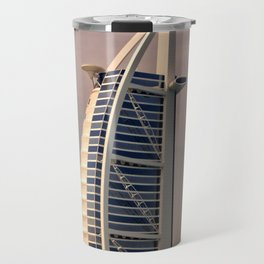 Burj al Arab in Dubai Travel Mug