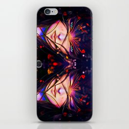 Red snow iPhone Skin