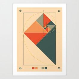 Fibonacci Experiment I Art Print