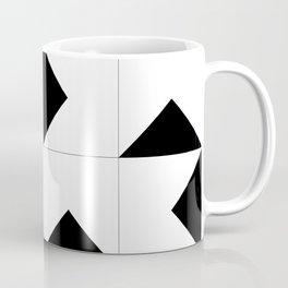 Abstract Spiral Triangles I Coffee Mug