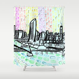 Brisbane Series #14 Shower Curtain