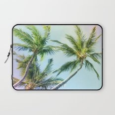 Relaxing Rainbow Color Palms Laptop Sleeve