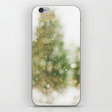 Snow Falling On Pines iPhone & iPod Skin