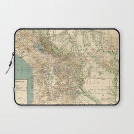 Vintage Map of Bolivia (1905) Laptop Sleeve