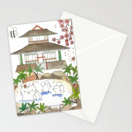 Japan series : Onsen Stationery Cards