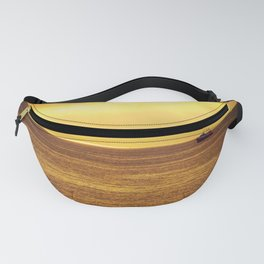 Going Fishing at sunset Fanny Pack