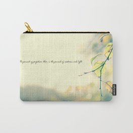 The Pursuit of Perfection Carry-All Pouch