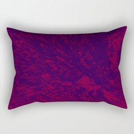 RED WAVES Rectangular Pillow