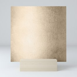 White Gold Sands Mini Art Print