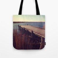 denmark Tote Bags featuring Denmark by Elisabeth Mochner