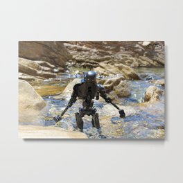 Droid in Mallorca Metal Print