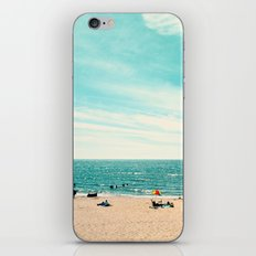 Portrait of a Beach iPhone & iPod Skin