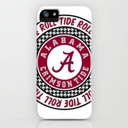 Alabama University Roll Tide Crimson Tide iPhone Case