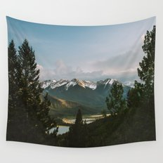 Banff Mountains Wall Tapestry