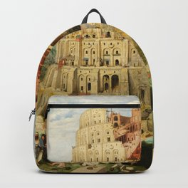 The Tower of Babel 1563 Backpack