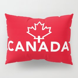 Canada with Maple Leaf Pillow Sham