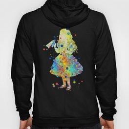 Drink Me - Alice In Wonderland - Watercolor Art Hoody