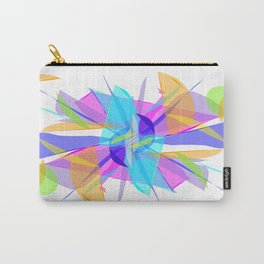 Explosion Modern Abstract Art Design Carry-All Pouch